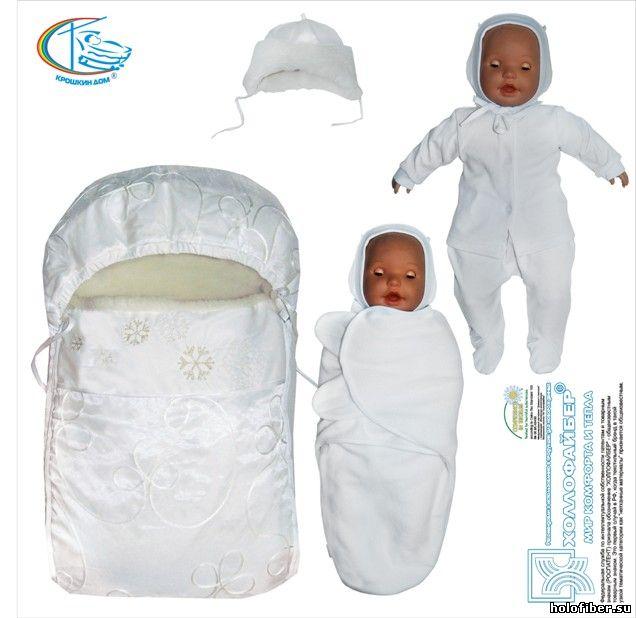 Во что одеть новорожденного в конверте